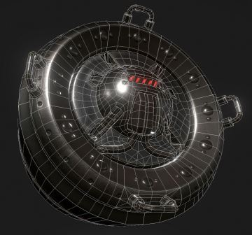 AI Control Module Wireframe