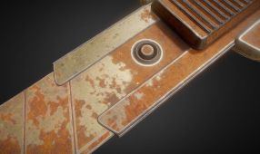 Box Cutter Rusty Version