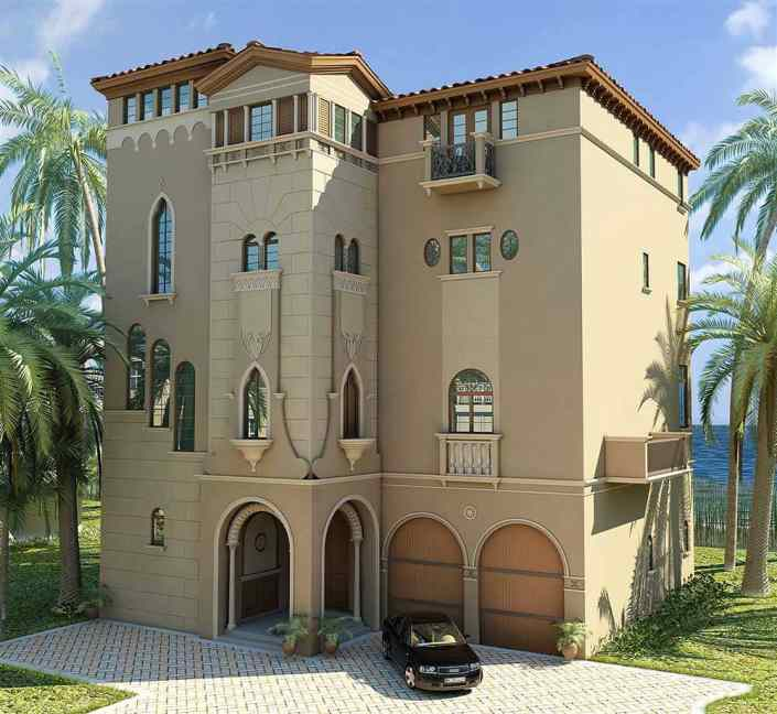 Barefoot Beach Bonita Springs Florida 3D Spec Home