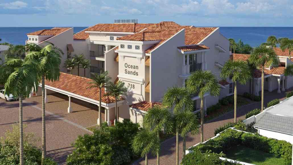 Ocean Sands Condos in Venice, Florida - 3D Architectural Concept