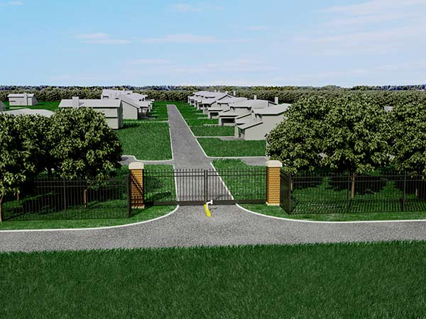Nalle Road Estates Entrance Concept B