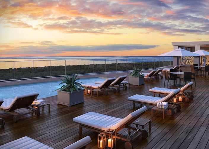Exterior Renderings - Kalea Bay Rooftop with Pool