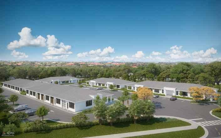 3D Aerial Storage Spaces at BizPark in Bonita Springs, Florida