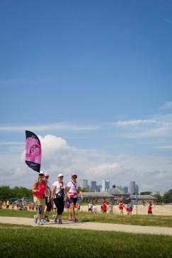 skyline flags 2013 Boston Susan G. Komen 3-Day Breast Cancer Walk