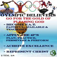 Olympic Believers Go for the Gold of Pleasing God – Part 1