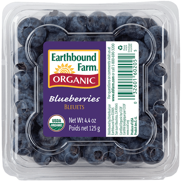 Fresh Organic Blueberries Earthbound Farm