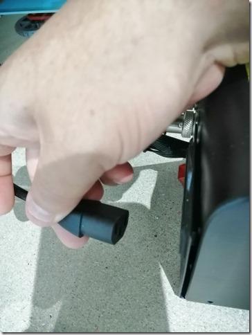 Réglage driver Alfawise u20 : alimentation off