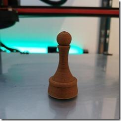 utilisation du filament pour un jeu d'échec