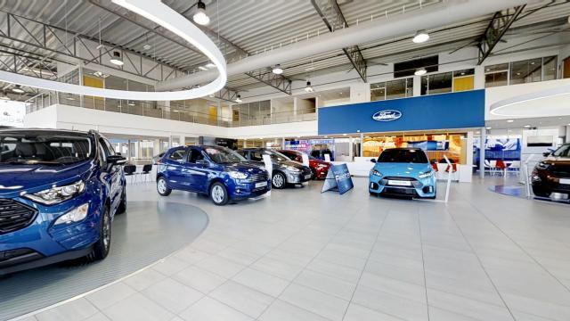 visite virtuelle lyon concession automobile bymycar ford lyon 3d creation (1)
