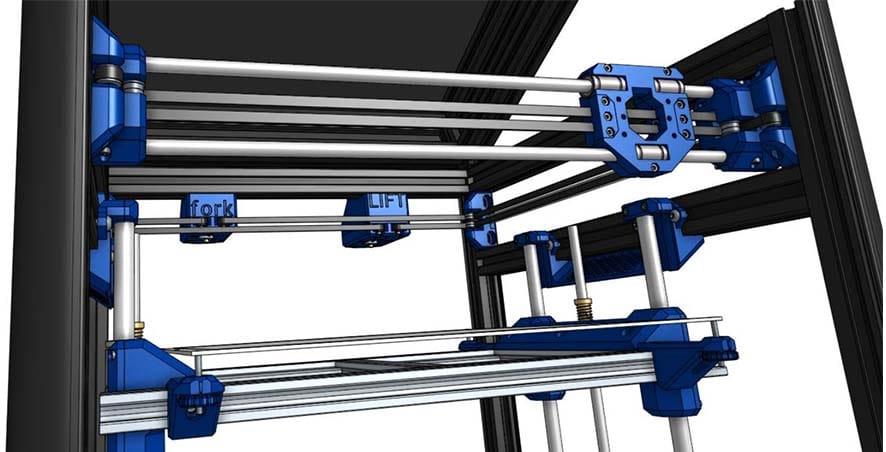 forkLIFT CoreXY 3D Printer Design on Thingiverse