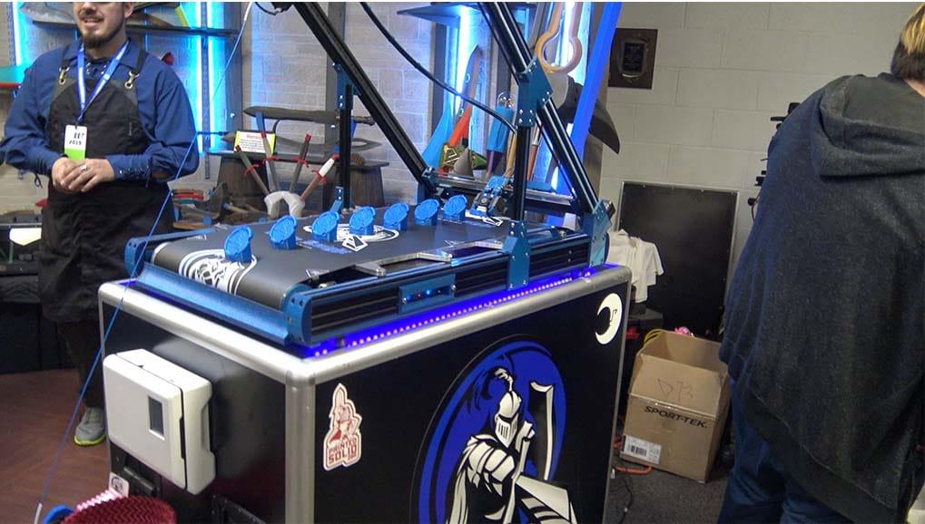 White Knight Belt 3D Printer