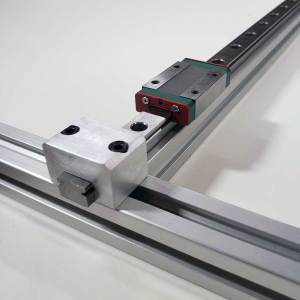 Linear Stop 20mm×20mm w/Rail Constraint