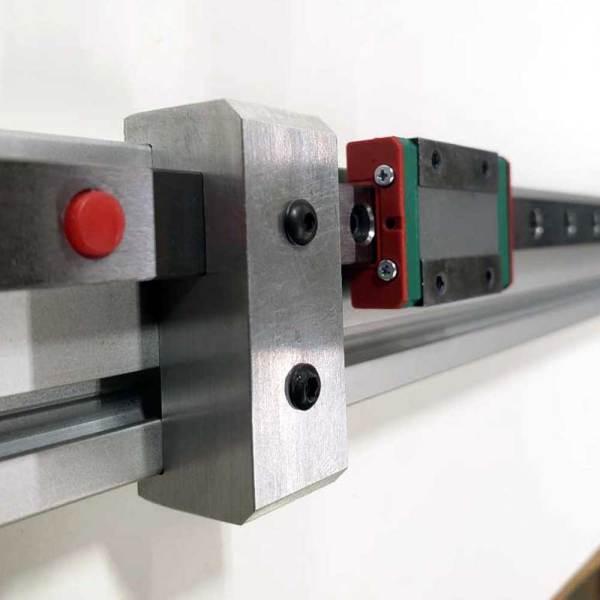 Linear Rail Stop 20x40 w/Rail Alignment