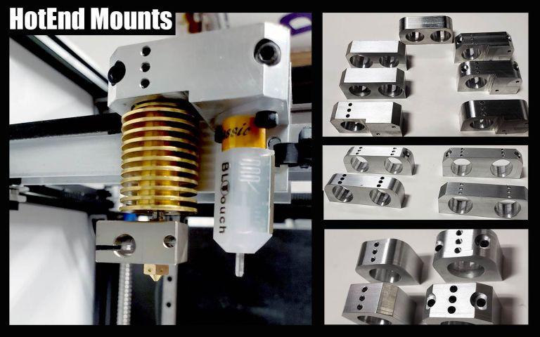 All Metal Hotend Mounts