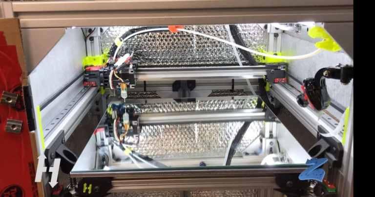 HeVort Advanced DIY 3D Printer