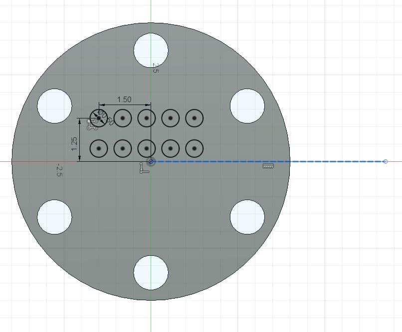 Fusion 360 Tutorial-Circular Pattern-Rectangular Pattern 19