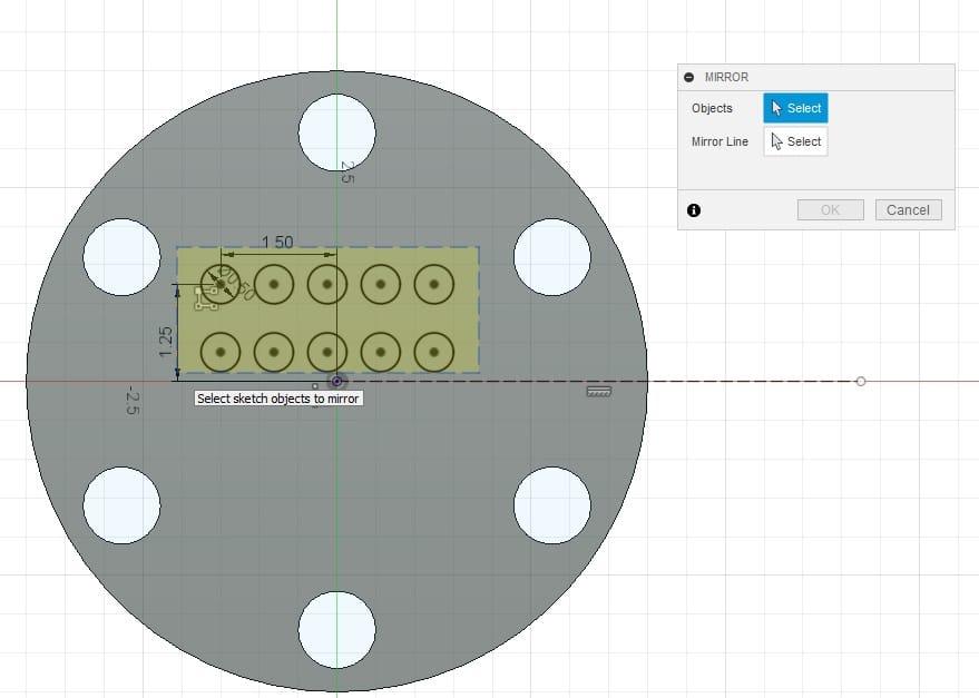 Fusion 360 Tutorial-Circular Pattern-Rectangular Pattern 22