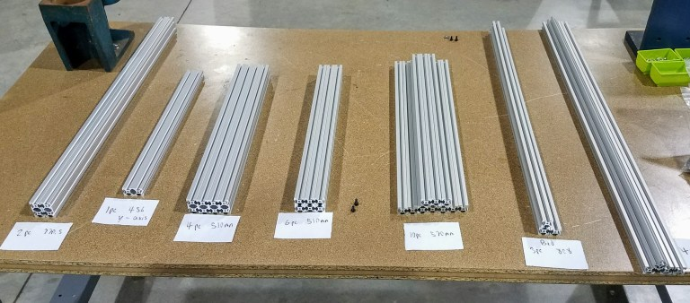 Workhorse Frame Extrusions