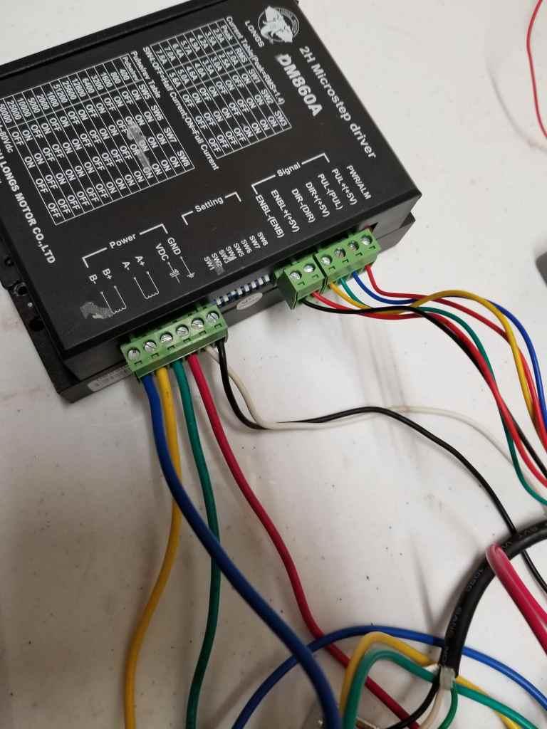 Duet Wifi Wiring External Stepper Motor Drivers