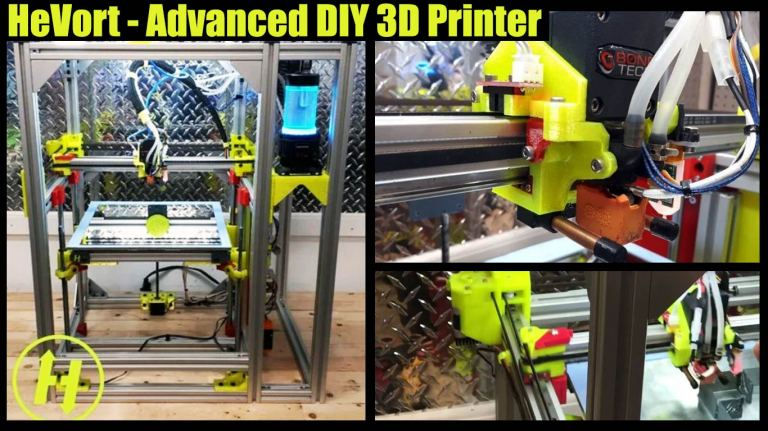 HeVort-Advanced DIY 3D Printer