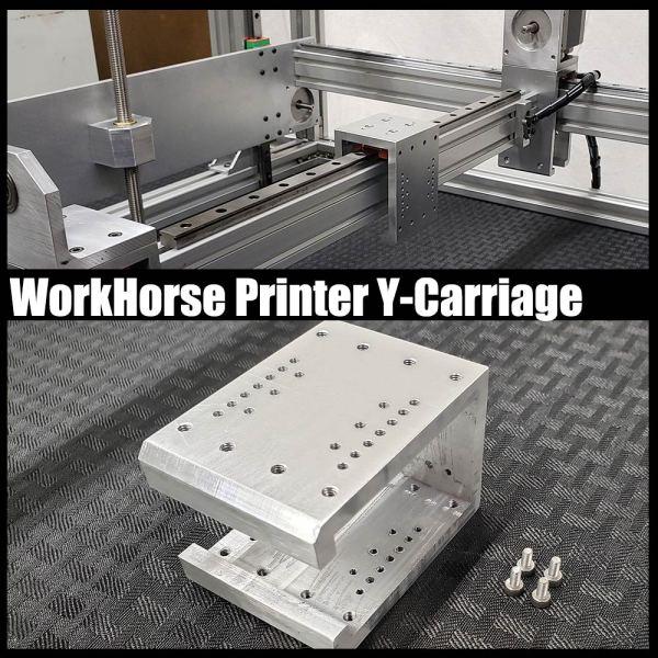 WorkHorse Priner Y-Carriage