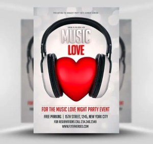 Music-Love-Flyer-Template