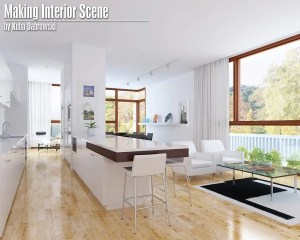 Tutorial 3DS MAX escena interior