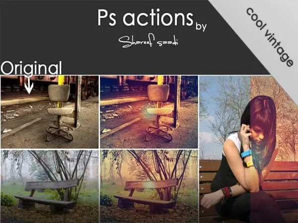 Photoshop actions – 7