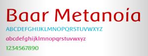 baar-metanoia-font