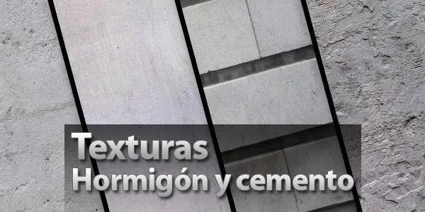 23 texturas de hormigón y cemento