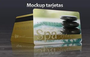 Mockup tarjetas