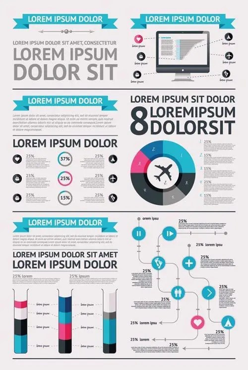 Infographic Vector Elements-1