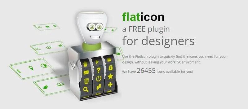 Flaticon plugin gratis