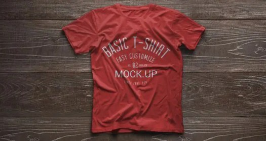 Psd Tshirt Mockup Template Vol2
