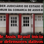Comarca de Assis Brasil inicia cadastro dativos