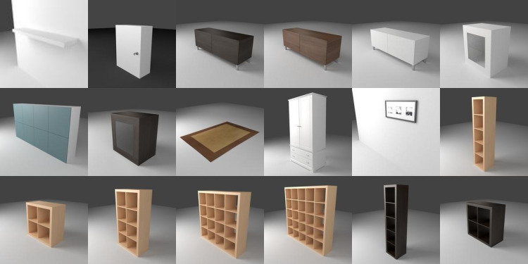 Includes support for windows, macos, linux, jar file and portable. 180 Ikea Models For Sweet Home 3d 3deshop By Scopia