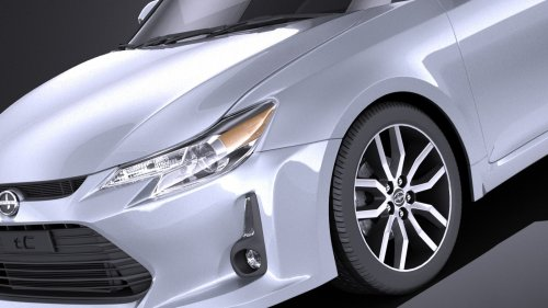 small resolution of scion tc 2016 vray modelo 3d