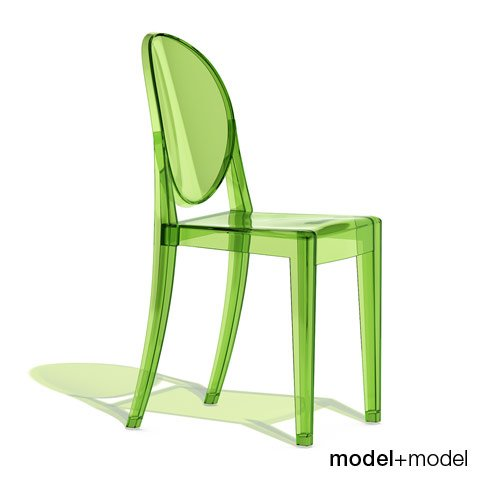 victoria ghost chair round table and chairs kartell 3d model in 3dexport