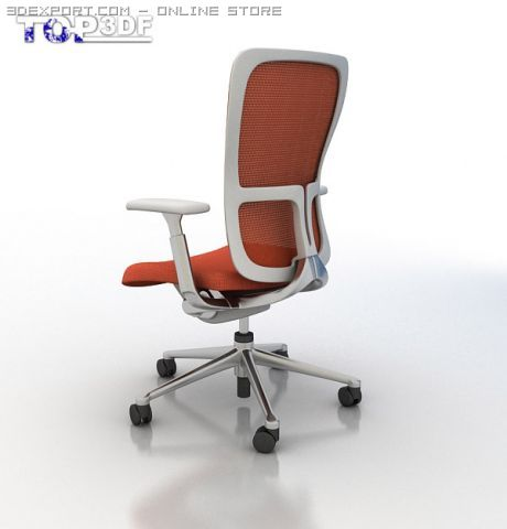 haworth zody chair racing office chairs 3d model in 3dexport