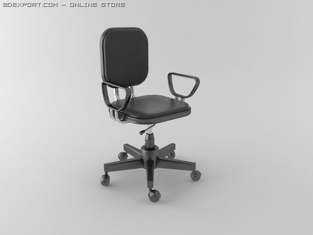 office chair 3d model covers folding chairs cheap free in 3dexport c4d max obj 3ds fbx lwo