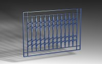 Window Grill Model Images