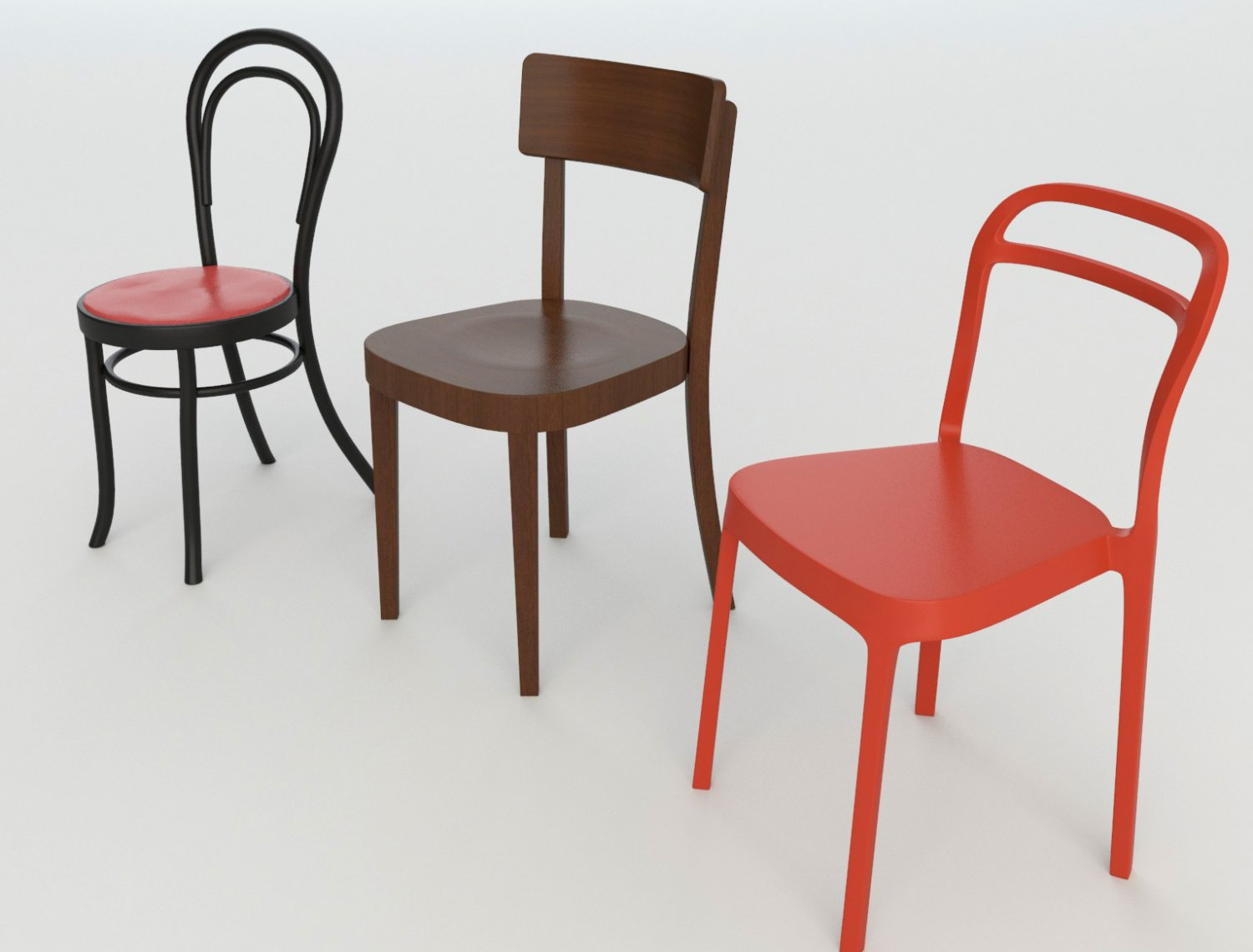 Cafeteria Chairs Bar Cafeteria Chairs 2 3d Model In Set 3dexport