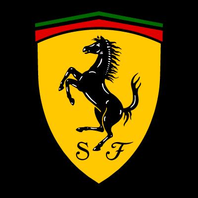 ferrari emblem 3d model