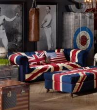 British Flag Sofa British Flag Usa Eagle American Sofa ...