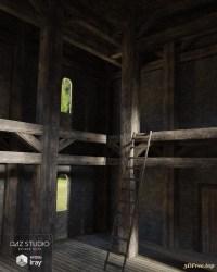 fantasy interior room 3d models