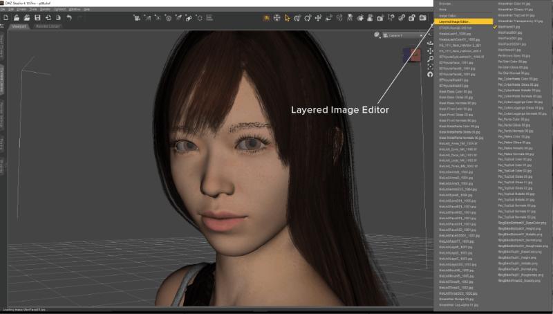 Layered Image Editor を選択