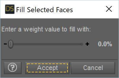 Fill を 0.0% に設定