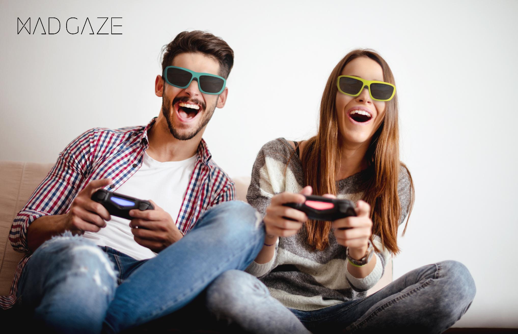 MAD Gaze glow plus gaming
