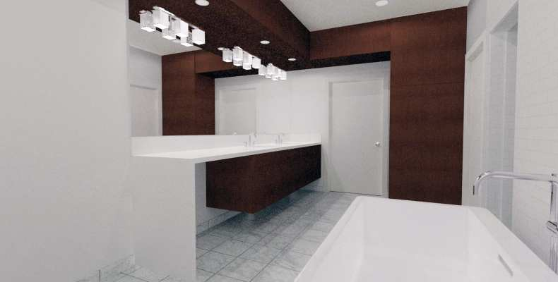 Concept Modern Bathroom design challenge