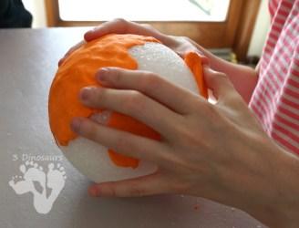 Fun to Make Model Magic Pumpkins 3 Dinosaurs